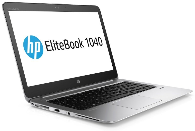 "HP EliteBook Folio 1040 G3 Ultrabook, Intel Core i7-6500U 2.5GHz, 8GB DDR4, 256GB SSD, 14"" FHD, No-DVD, Intel HD, WIFI, Bluetooth, Webcam, Windows 10 Pro 64bit"