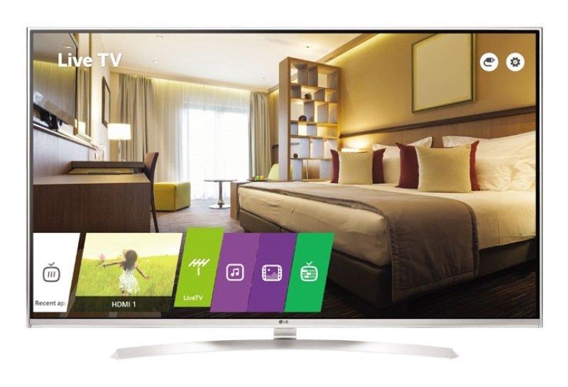 49&quot Black Commercial Tv 4k Uhd 400 Cdm2 Vesa Wall Mount 300 X 300m