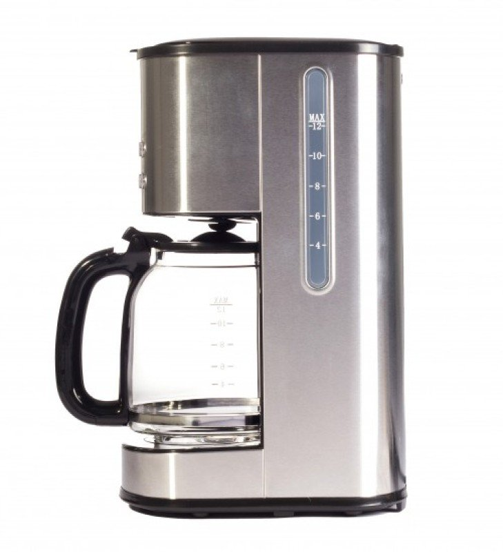 Coffee Maker With Metal Filter : Igenix 800W 1.5 Litre Digital Filter Coffee Maker Stainless Steel - Ebuyer