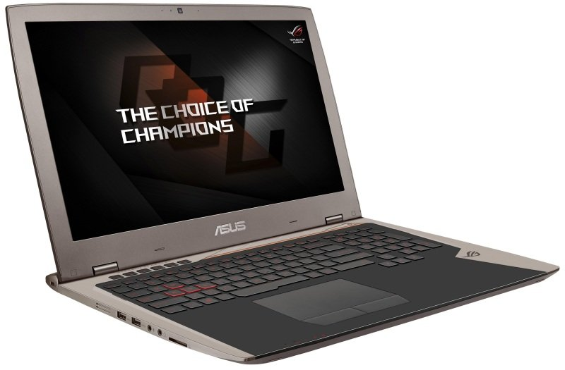 ASUS ROG G701VI Gaming Laptop Intel Core i76820HK 2.7GHz 64GB DDR4 512GB SSD 17.3&quot FHD NoDVD NVIDIA GF GTX 1080 WIFI Webcam Bluetooth Windows 10 Home 64bit