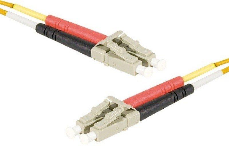 Image of Fiber Duplex Patch Cord OM2 50/125 LC/LC LSZH- 2m