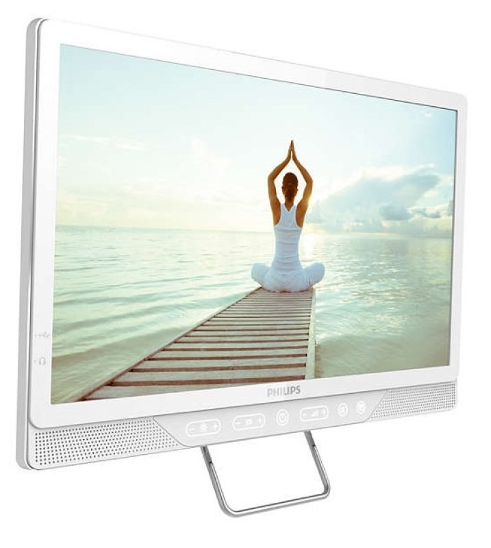 19&quot White Commercial Tv Hd Ready 200 Cdm2 Vesa Wall Mount 75 X 75m