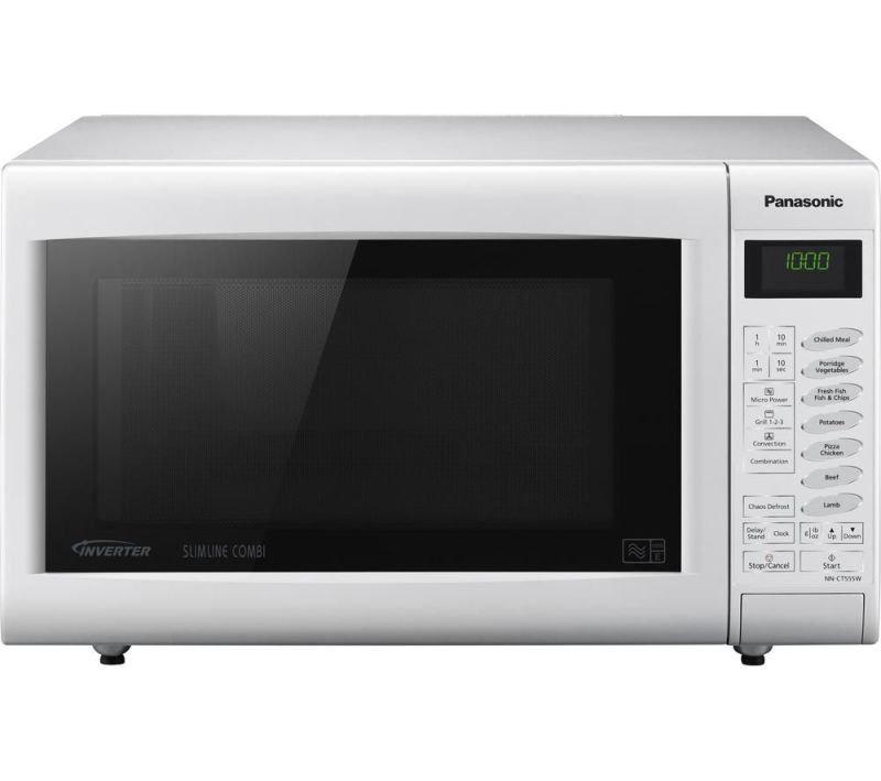 Panasonic 27 Litre 1000w Slimline Touch Combination