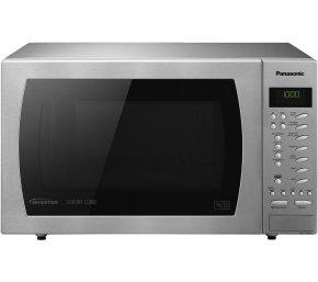 Panasonic 27 Litre 1000W Slimline Button Combination Microwave Stainless Steel