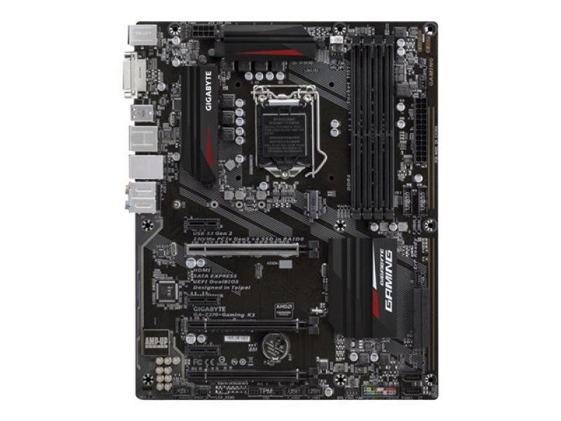 Gigabyte Intel GA-Z270-Gaming K3 LGA 1151 ATX Motherboard