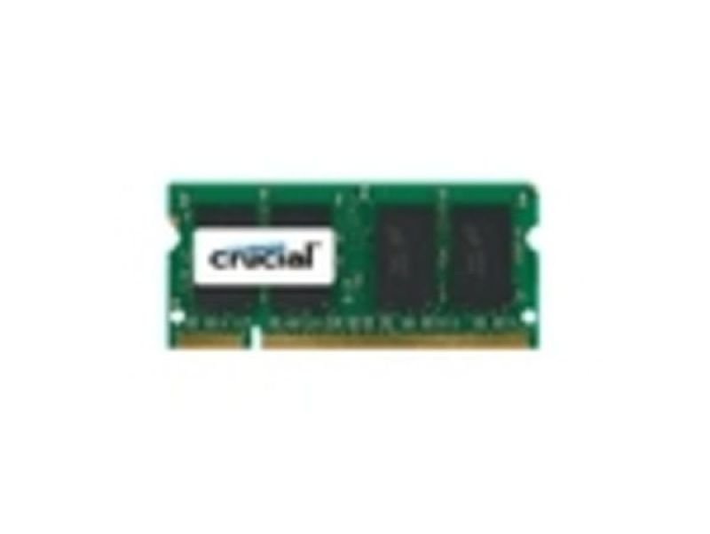 Image of Crucial 4GB DDR2 800MHz/PC2-6400 Laptop Memory Module CL6 1.8V