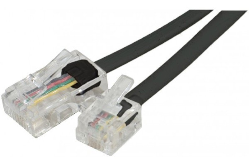 Click to view product details and reviews for Telephone Cord Rj11 To Rj45 Black 10m.