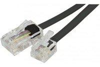 Telephone Cord Rj11 To Rj45 Black- 15 M