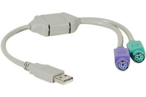 USB Converter- 2 X PS2 Ports
