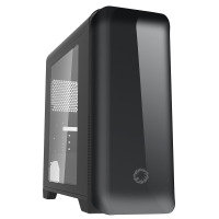 EXDISPLAY Game Max Explorer Mid Tower Gaming PC Case with 1 x USB3 & Side Window