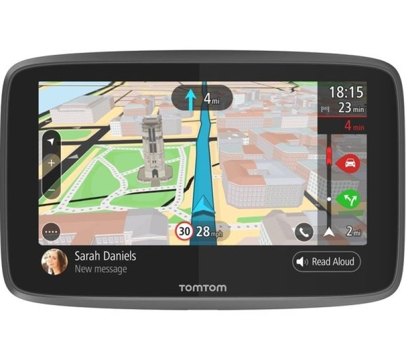 "TOMTOM GO 6200 6"" Sat Nav  with Worldwide Maps"