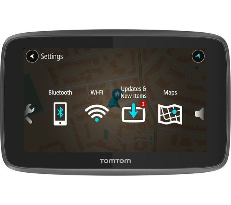 tomtom go 6200 6 sat nav with worldwide maps ebuyer. Black Bedroom Furniture Sets. Home Design Ideas