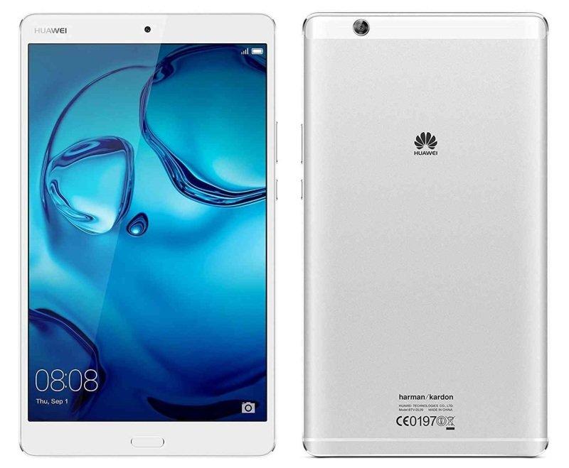 """Huawei MediaPad M3 8"""" 32GB Tablet  Silver"""