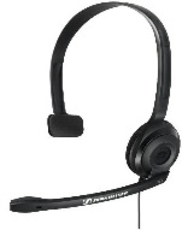 Sennheiser PC 2 CHAT Lightweight Telephony OnEar Headset  Black