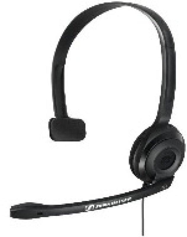 Sennheiser PC 2 CHAT Lightweight Telephony OnEar Headset  Black
