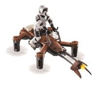 Deluxe Edition Star Wars Speeder Bike Battling Drone