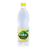 Volvic Touch of Fruit Lemon and Lime Flavoured Sparkiling Water 500ml
