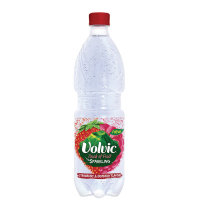 Volvic Touch of Fruit Strawberry and Raspberry Flavoured Sparkiling Water 500ml