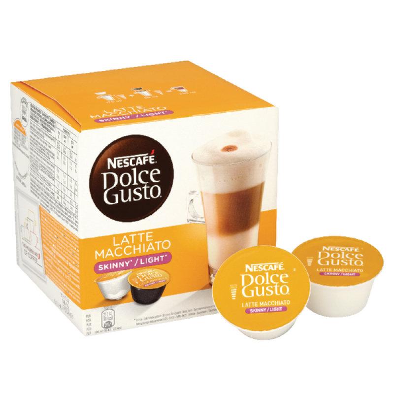Nescafe Dolce Gusto Skinny Latte Capsules (Pack of 48)