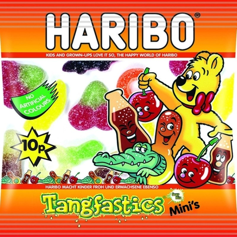 Image of Haribo Tangfastics Small Bag (Pack of 100)