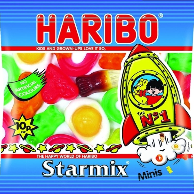 Image of Haribo Starmix Small Bag (Pack of 100)
