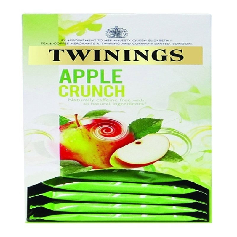 Twinings Apple Crunch Infusion Tea Bags (Pack of 20)