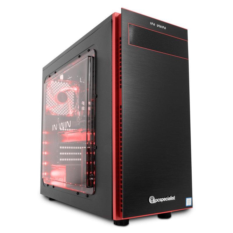PC Specialist Vanquish Gamer Pro VR II Gaming PC Intel Core i77700 3.6GHz 16GB DDR4 240GB SSD 2TB HDD NoDVD NVIDIA GTX 1070 8GB WIFI Windows 10 Home 64bit