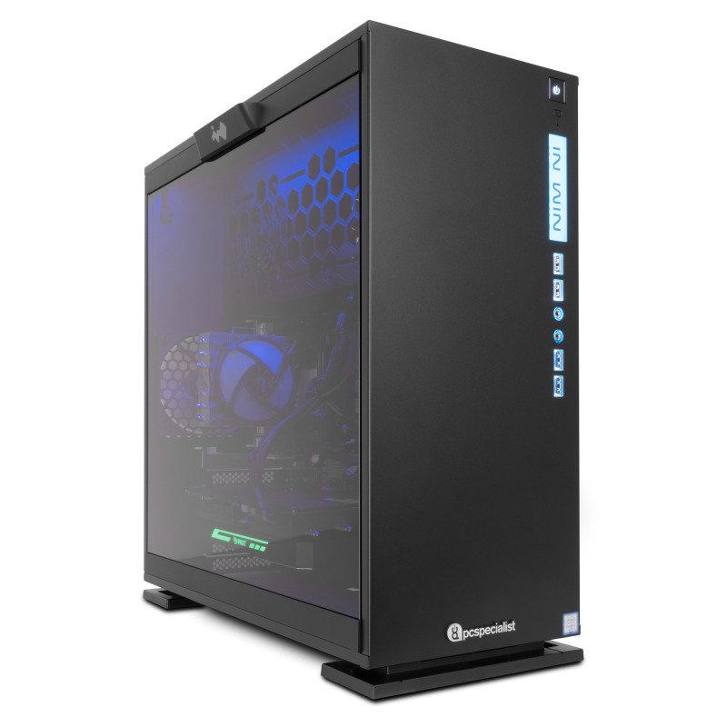 PC Specialist Vanquish Impact Pro VR II Gaming PC Intel Core i77700 QC 3.6GHz 16GB DDR4 240GB SSD 2TB HDD NoDVD NVIDIA GTX 1080 8GB WIFI Windows 10 Home 64bit