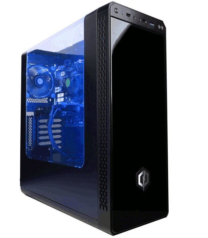 Cyberpower Gaming Sonar Pro Gaming PC Intel Core i77700 3.6GHz 16GB RAM 120GB SSD 1TB HDD GTX 1070 8GB Windows 10 Home 64bit