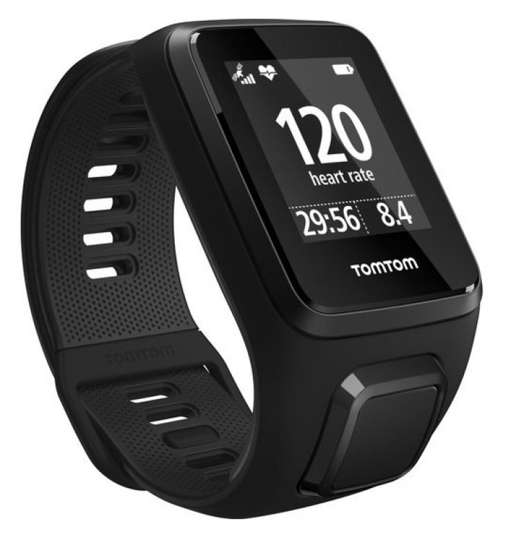 TomTom Spark 3 Cardio Black Fitness Watch  Small