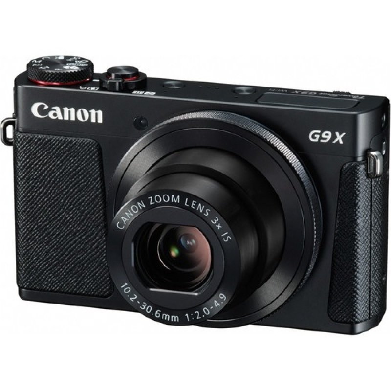 Powershot G9x Black Digital Cam  Kit In