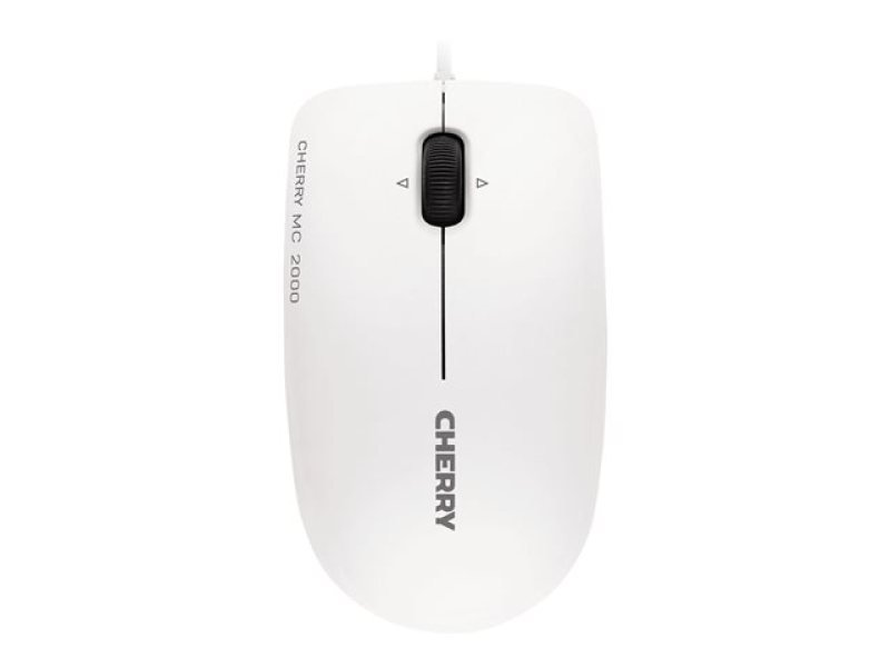 Cherry Mc-2000 Infra-red Corded Mouse With Tilt-wheel Technology (pale Grey)