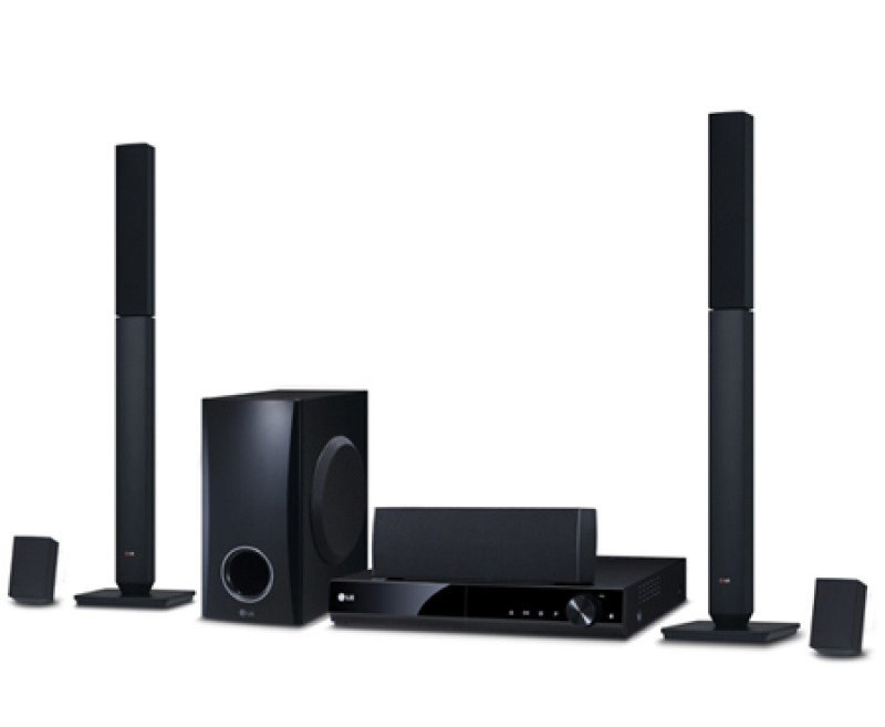 Lg Dh4430p 5.1 Channel Dvd Home Theatre System 330w