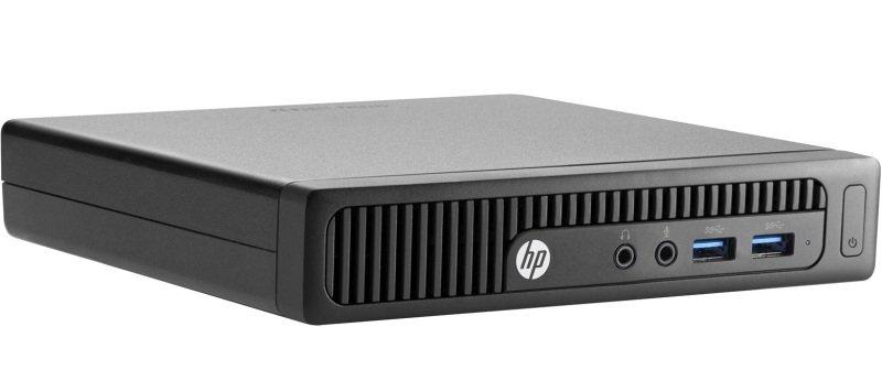 HP 260 G2 Mini Desktop PC Intel Core i56200U 2.3GHz 4GB RAM 256GB SSD NoDVD Intel HD Windows 10 Pro