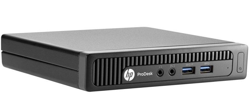 HP ProDesk 400 G2 Mini Desktop PC Intel Core i36100T 3.2GHz 4GB RAM 500GB HDD NoDVD Intel HD Windows 10 Pro