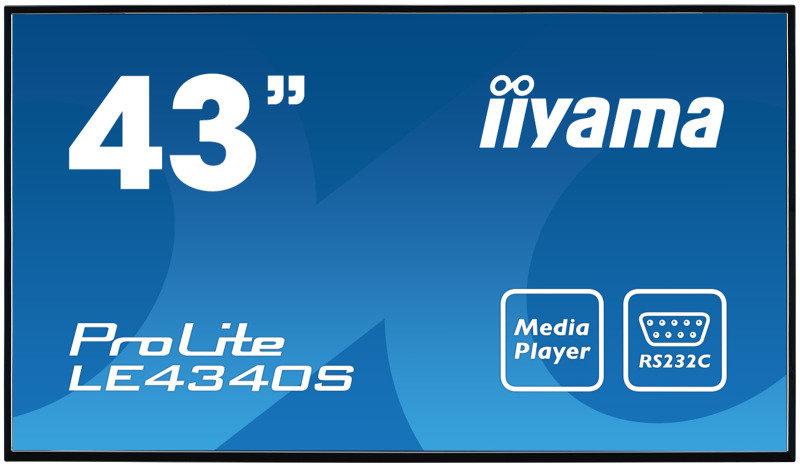 "Iiyama Prolite LE4340S-B1 43"" Full HD Large Format Display"
