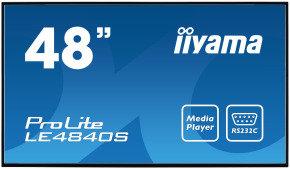 """Iiyama LE4840S-B1 48"""" Full HD Large Format Display"""