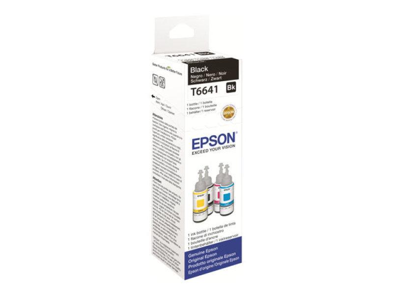 Epson T6641 Black 70m Ink Bottle