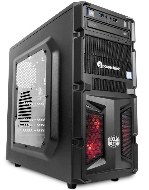 PC Specialist Vanquish Gamer XT VR II Gaming PC Intel Core i77700 3.6GHz 16GB DDR4 120GB SSD 2TB HDD DVDRW NVIDIA GTX 1070 8GB WIFI No Operating System