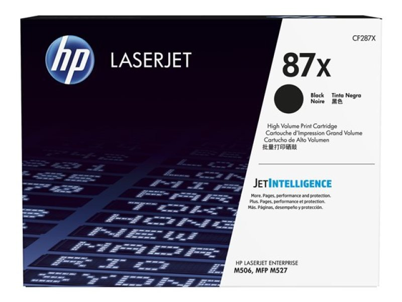 HP 87X High Yield Black Original LaserJet Toner Cartridge  CF287X