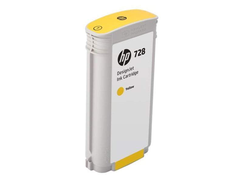 Hp Ink Cartridge/728 130ml Dj Yellow