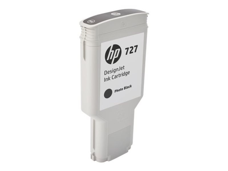 HP 727 Photo Black Original Designjet Ink Cartridge - High Yield 300ml  - F9J79A