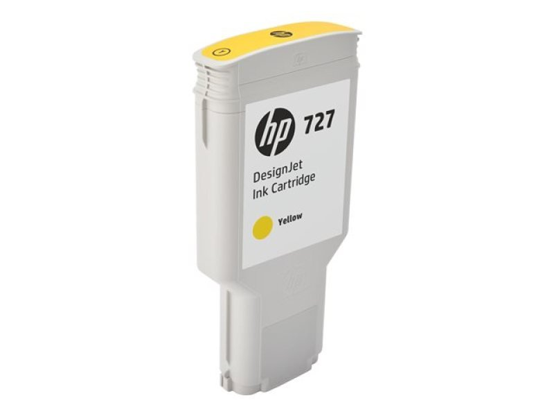 HP 727 300-ml Yellow DesignJet Ink Cartridge