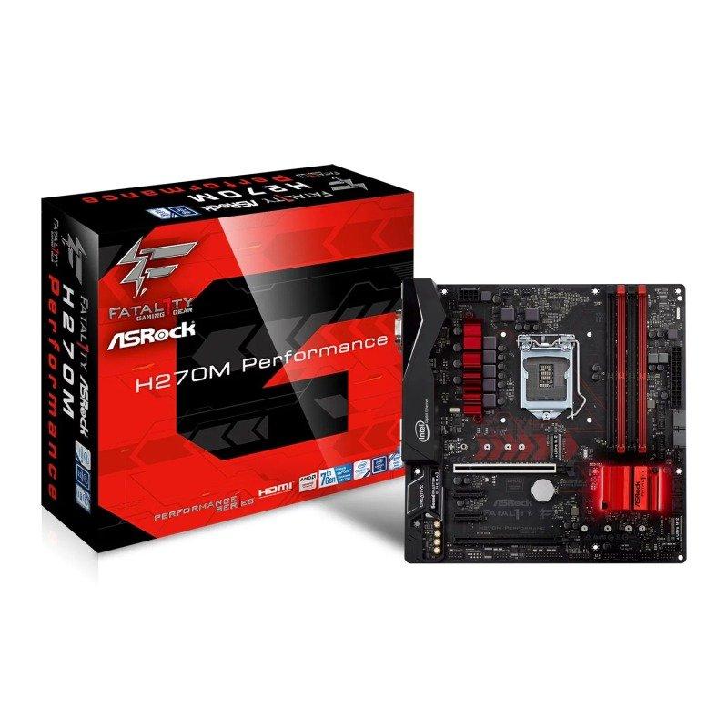 Asrock H270M Fatal1ty Performance Intel Socket 1151 mATX Motherboard