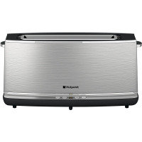 Hotpoint Tt12eax0 Long Slot Digital Toaster