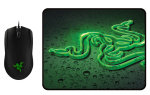 Razer Abyssus Gaming Mouse + Razer Goliathus Gaming Surface