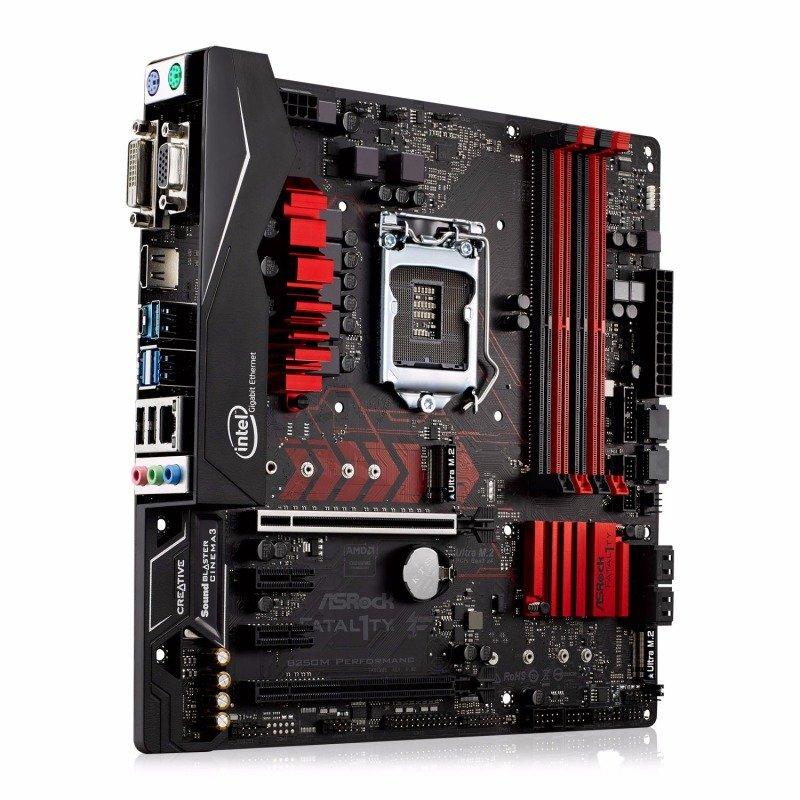 Asrock B250M Performance Intel Socket 1151 mATX Motherboard