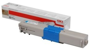 OKI Cyan Toner Cartridge 1,500 Pages
