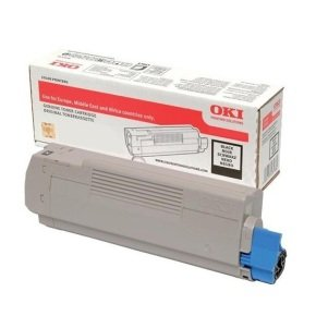 OKI Black Toner Cartridge 1,500 Pages
