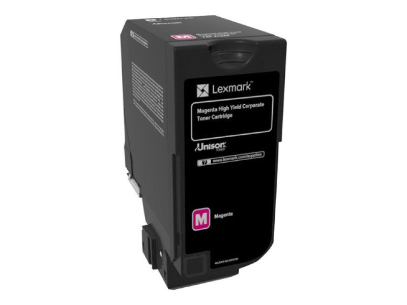 Lexmark 74C2HME Cartridge Magenta Toner Cartridge
